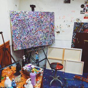 Picture of artist studio