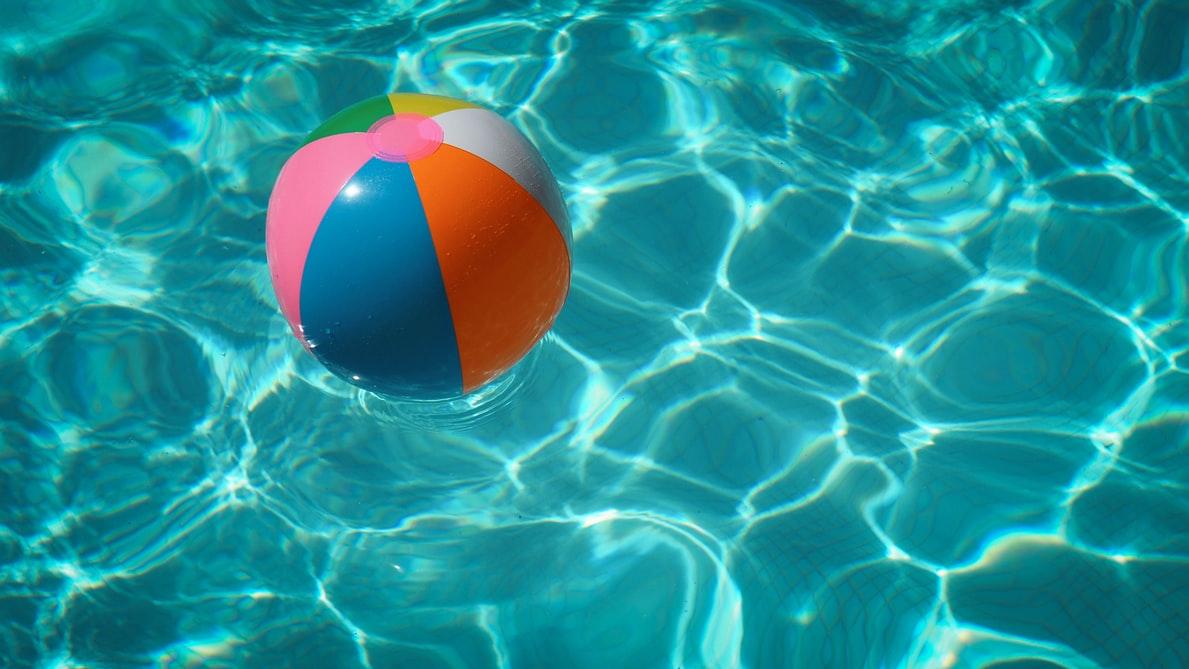 Pool and a ball