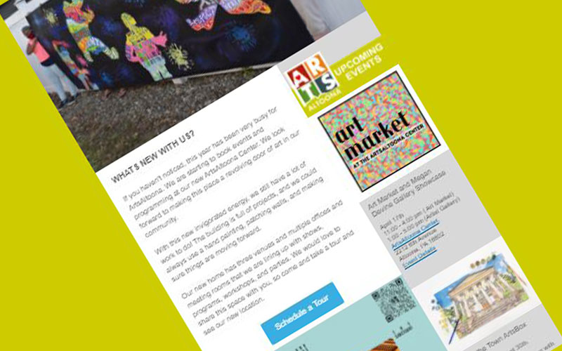 arts newsletter
